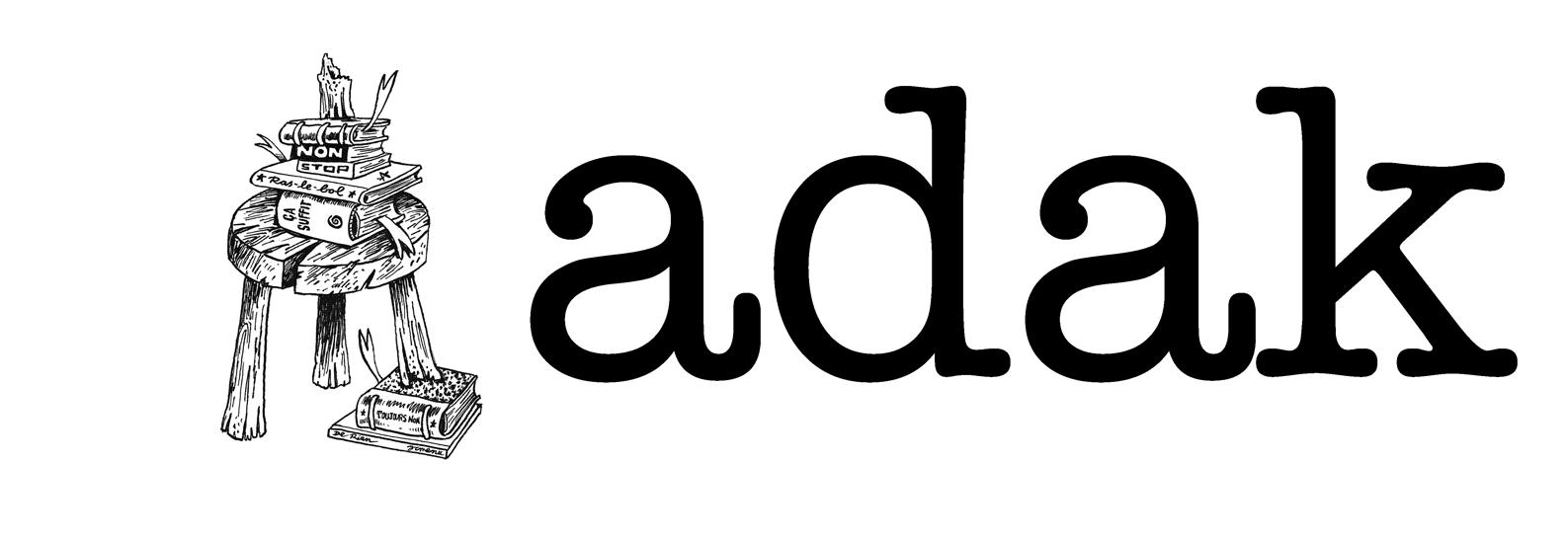 ADAK - logo par JC Menu